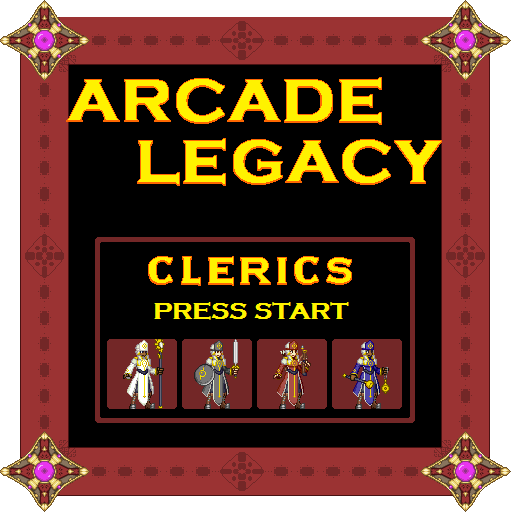 Arcade Legacy Human Clerics