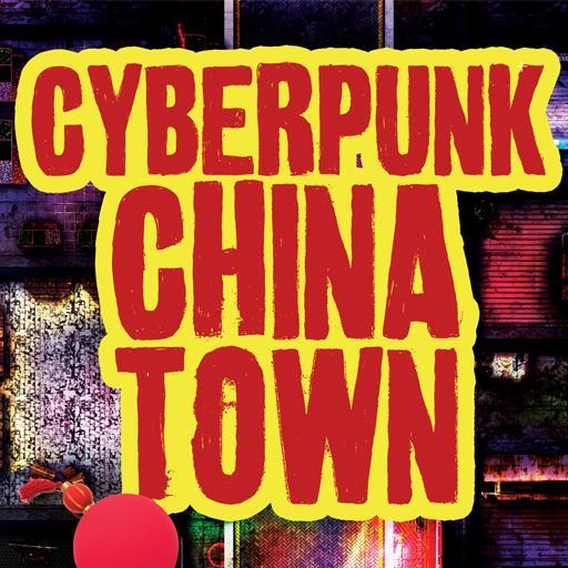 Cyberpunk Chinatown Huge Map