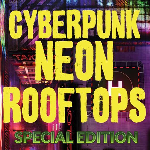 Cyberpunk Neon Rooftops