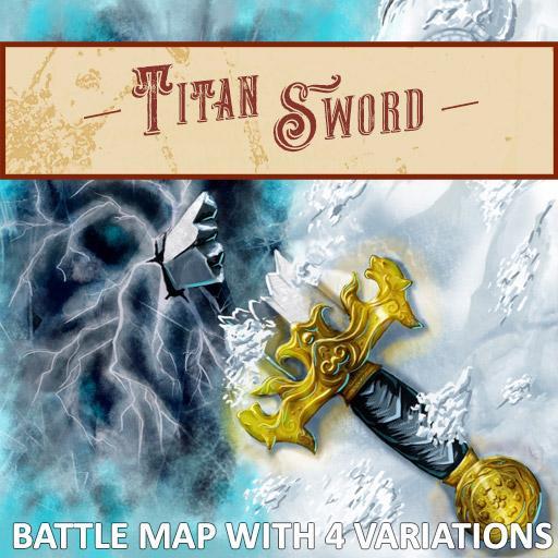 Titan Sword Battle Map