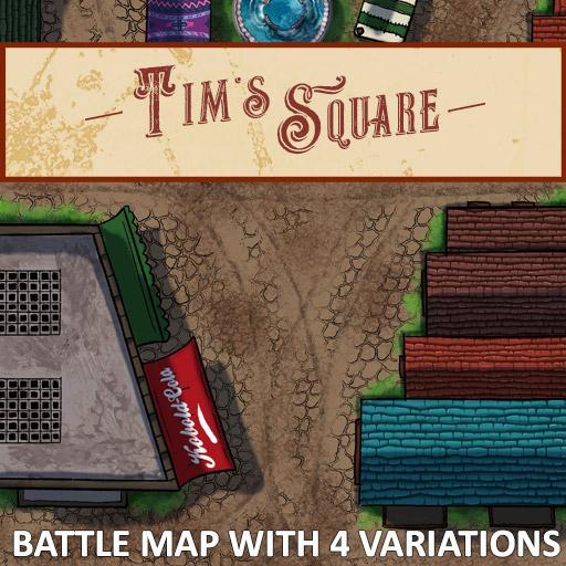 Tim's Square Battle Map