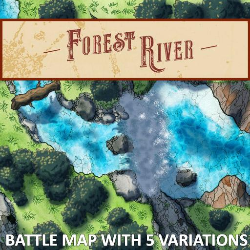 Forest River Battle Map