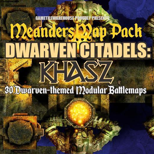 Meanders Map Pack KHASZ DWARVEN CITADEL