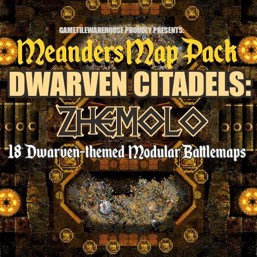 Meanders Map Pack ZHEMOLO DWARVEN CITADEL