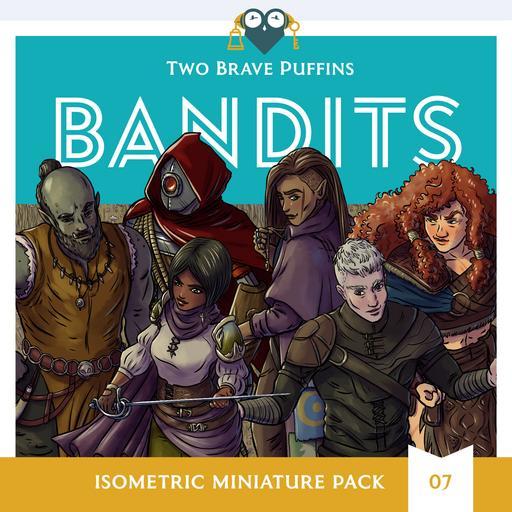 Bandits - Isometric Heroes Pack 07