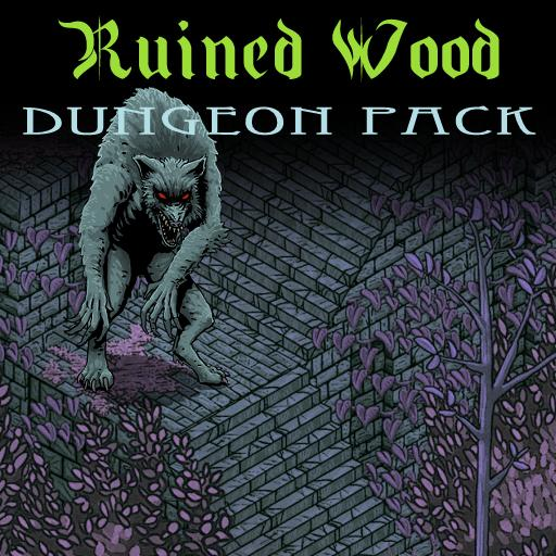 Ruined Wood: An Isometric Dungeon Pack
