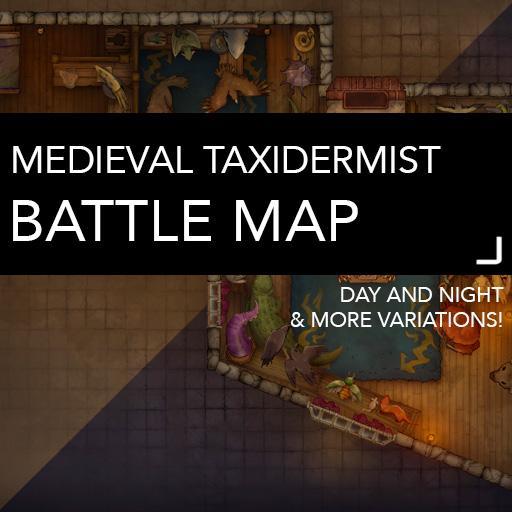 Medieval Taxidermist Battle Map