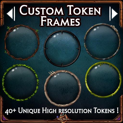 42 Custom Token Frames