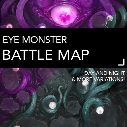Eye Monster Battle Map