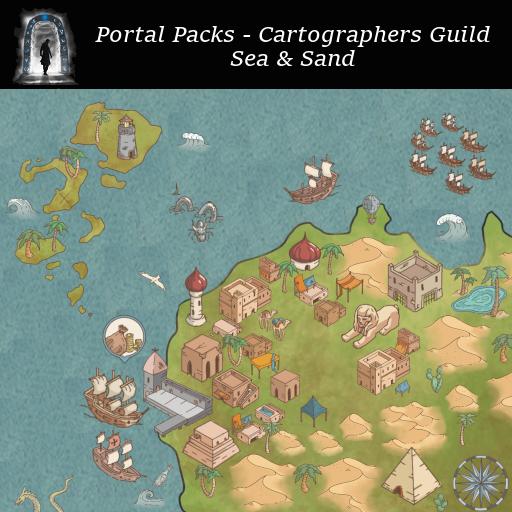 Portal Packs - Cartographers Guild - Sea & Sand