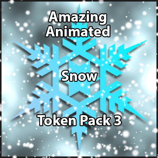 Animated Snow Tokens