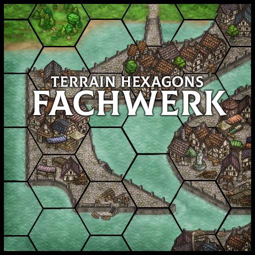 Terrain Hexagons: Fachwerk