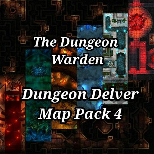 Dungeon Delver Map Pack 4