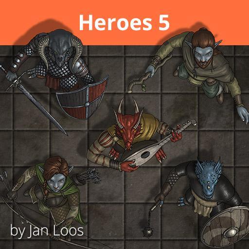 Jans Token Pack 24 - Heroes 5