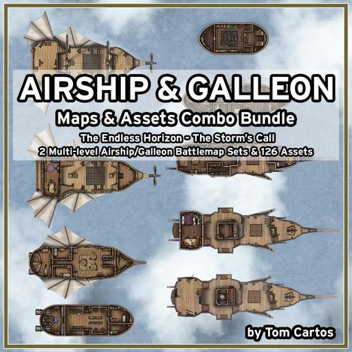 Airships & Galleons Art Pack