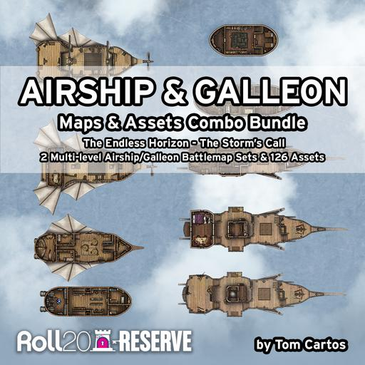Airship & Galleon Combo Bundle