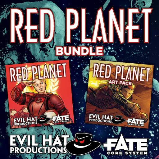 Red Planet: World and Art Bundle