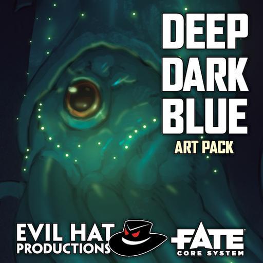 Deep Dark Blue: Art Pack