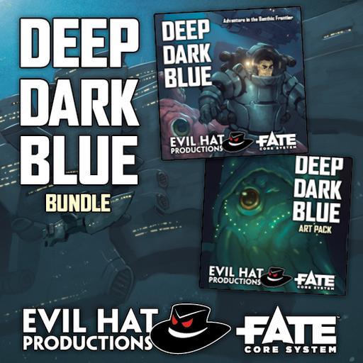 Deep Dark Blue: World and Art Bundle