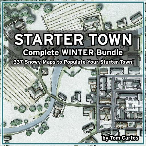 Starter Town Complete Winter Bundle