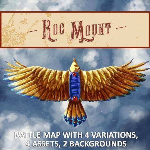 Roc Mount Battlemap