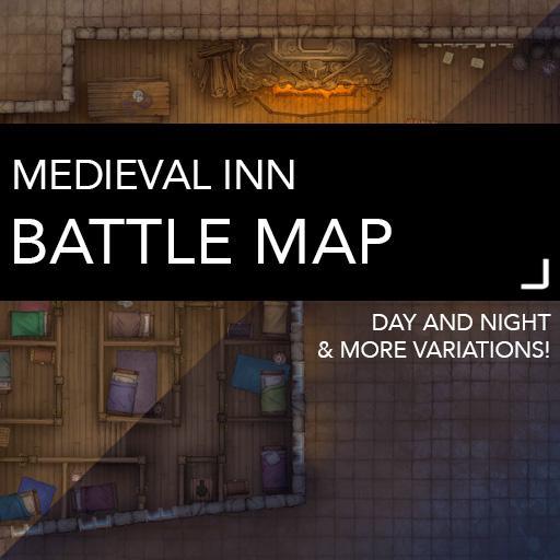 Medieval Inn Battle Map