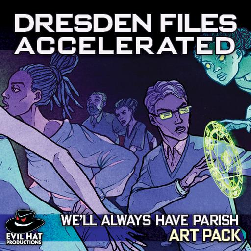 Dresden Files Accelerated: Art Pack
