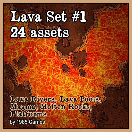 Lava Set #1