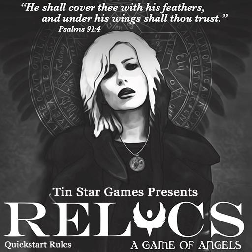 Relics: A Game of Angels Quickstart Pack