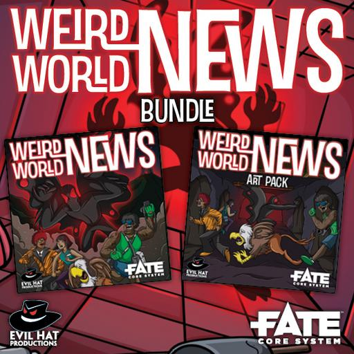 Weird World News: World and Art Bundle