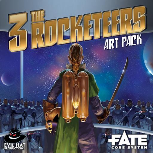 The Three Rocketeers: Art Pack