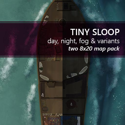 Tiny Sloop Battlemaps