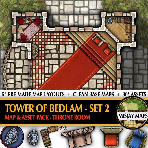 Tower of Bedlam SET 2