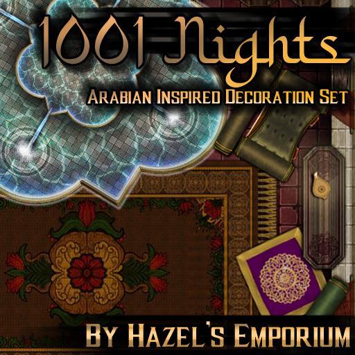 1001 Nights: Arabian Inspired Decoration Pack