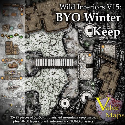 Wild Interiors V15: BYO Winter Keep