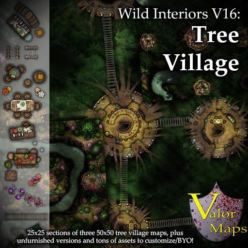 Wild Interiors V16: Tree Village