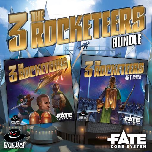 The Three Rocketeers: World and Art Bundle