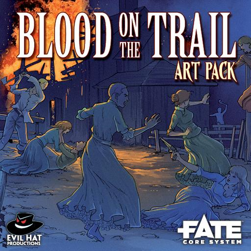 Blood on the Trail: Art Pack