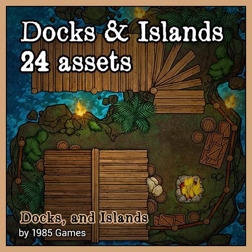Docks & Islands