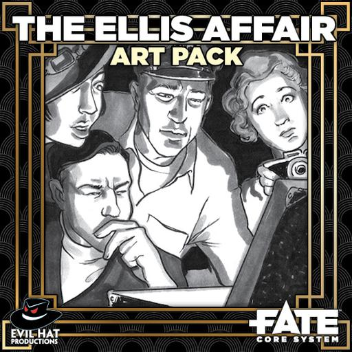 The Ellis Affair: Art Pack