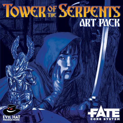 Tower of the Serpents: Art Pack