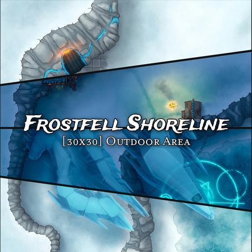 Frozen Shoreline