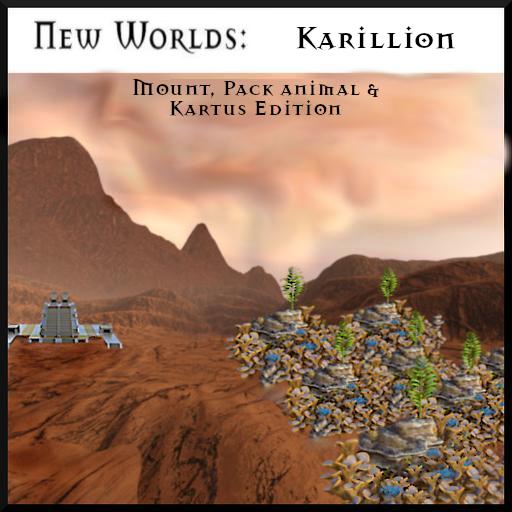 NW: Karillion Mounts & Pack Animals