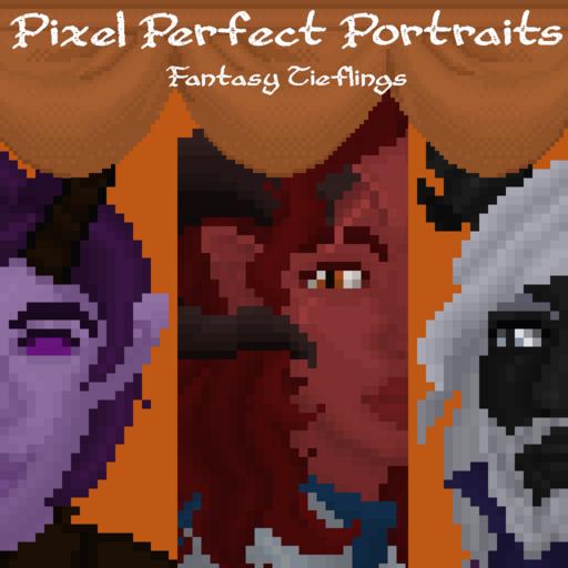 Pixel Perfect Portraits: Fantasy Tieflings