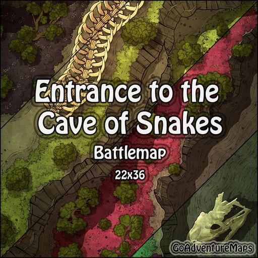 Entrance to the Cave of Snakes