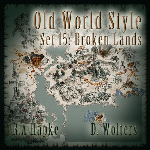 Old World Style set 15: Broken Lands