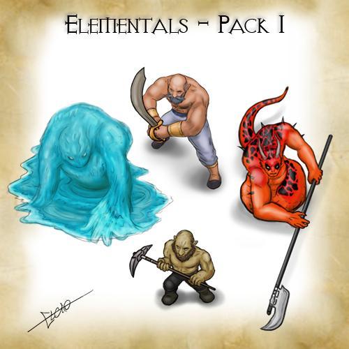 Elementals - Pack 1