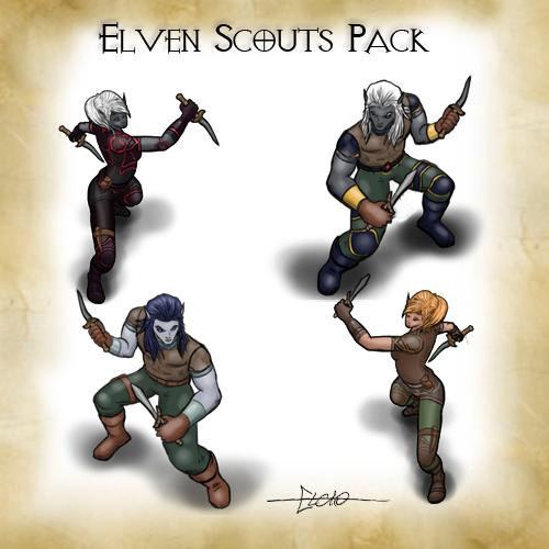 Elven Scouts Pack
