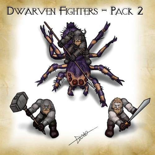 Dwarven Fighters - Pack 2