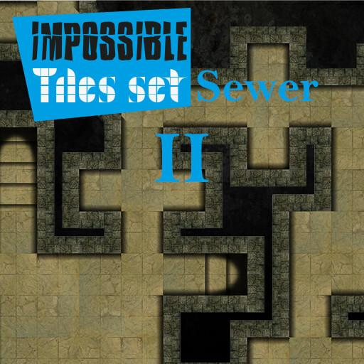 Impossible Tiles Set: Sewer 2